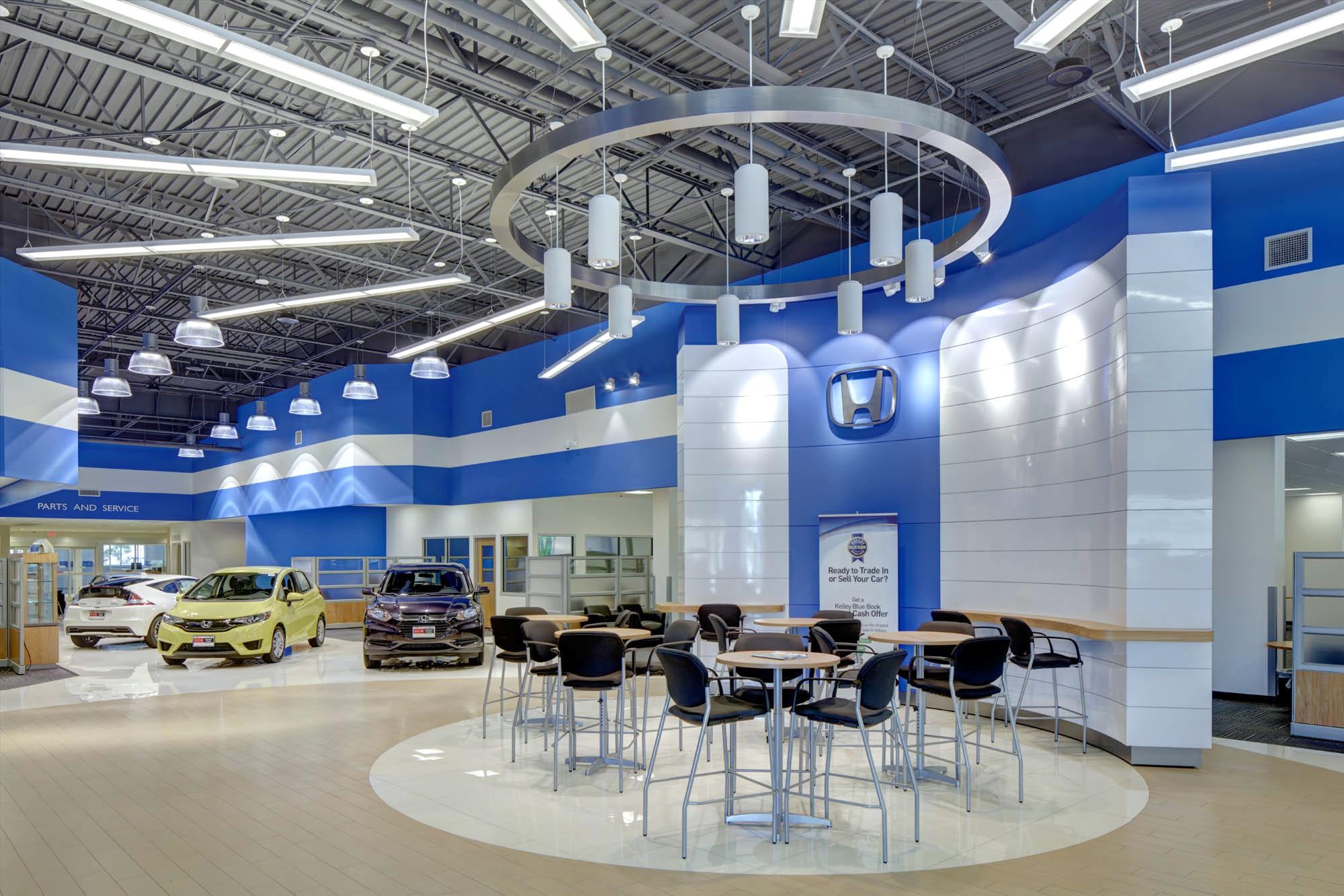 Dch paramus honda dealership built by mc gowan for Honda dealership paramus nj